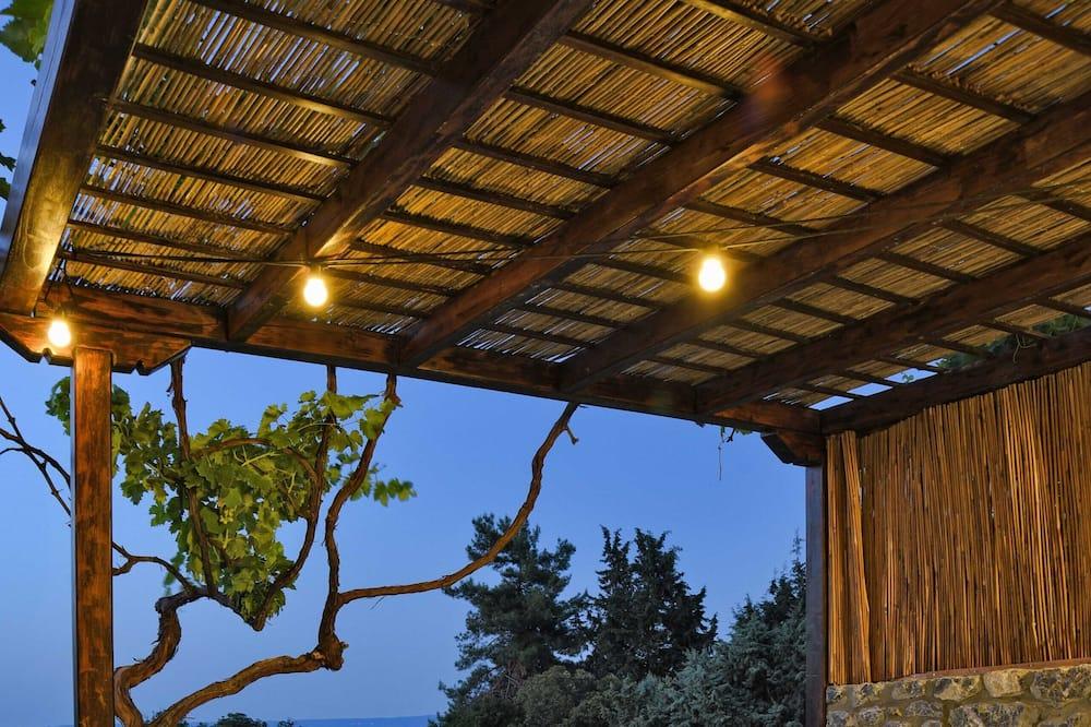 Розкішна вілла, 1 спальня, приватний басейн - Тераса/внутрішній дворик
