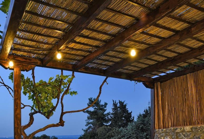 Luxury Villas in Ktima Gerostathi, Kassandra, Luksus-villa - 1 soveværelse - privat pool, Terrasse/patio