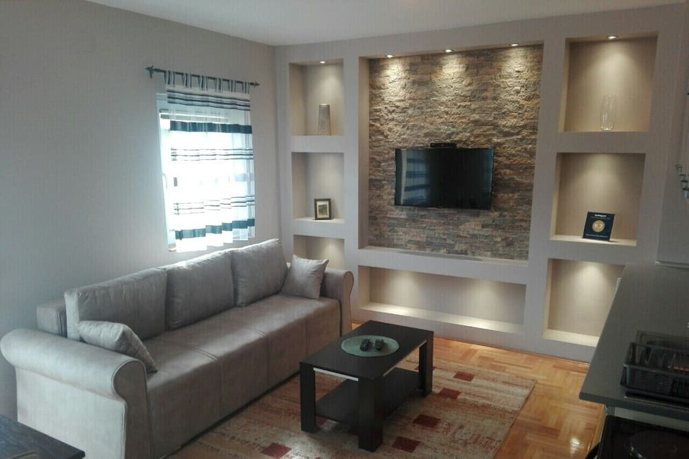 Deluxe Apart Daire - Oturma Odası
