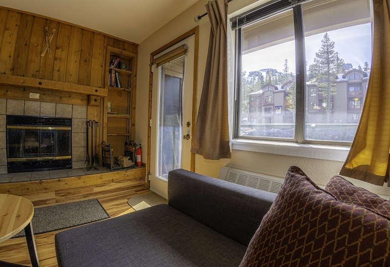 Skier`s The Meadows 228 - Sleeps 6 In Beds 1 Bedroom Condo, Kirkwood, Apartment, 1 Schlafzimmer, Wohnzimmer