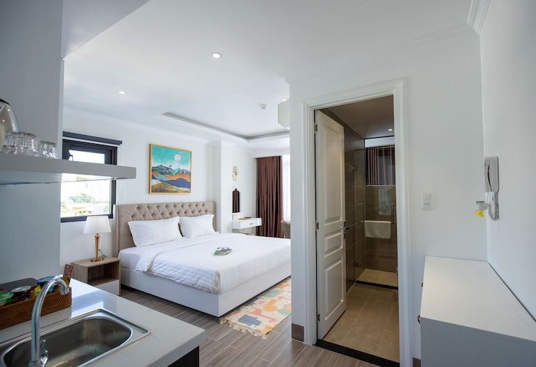 化向陽精品公寓飯店, 芽莊, 豪華開放式客房, 客房
