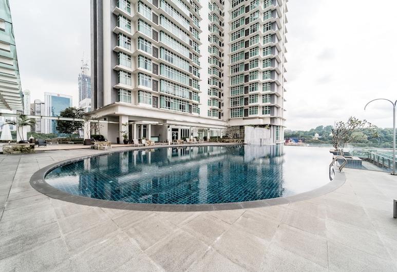 OYO Home 89727 Fantastic Studio Dua Sentral - Memoire Suites, Kuala Lumpur, Pool