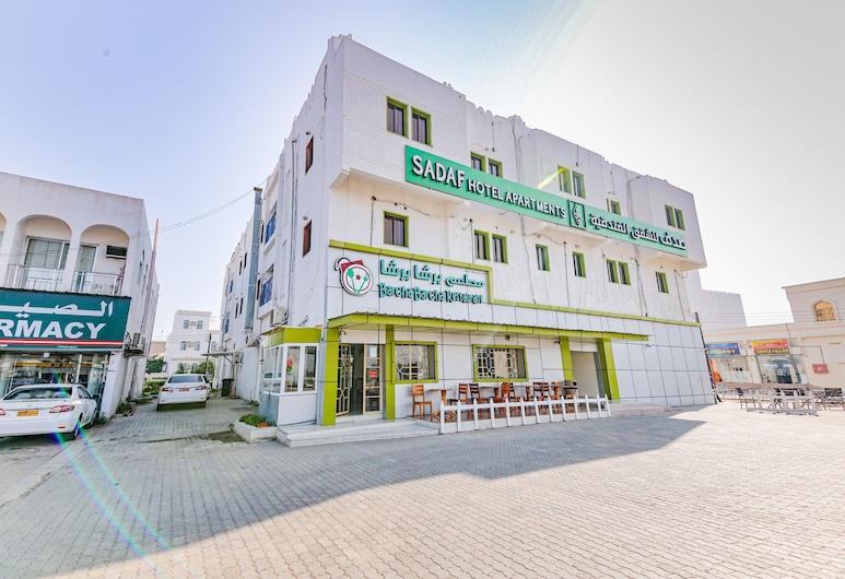 OYO 126 Sadaf Hotel Apartments, Sohar, Hotelfassade