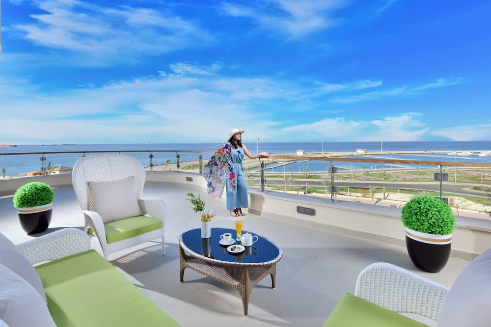 Suite Sea Side View - Balkoni