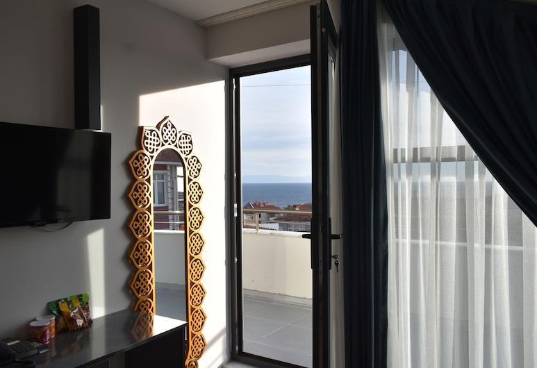 أفسيلار جاردن هوتل, إسطنبول, غرفة ديلوكس - بشرفة - بمنظر للبحر, منظر من غرفة الضيوف