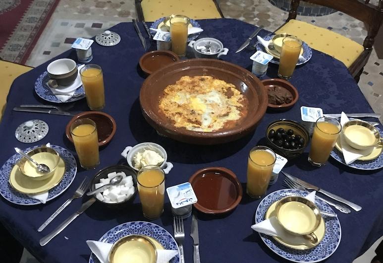 Riad Touareg, Fes, Breakfast Area