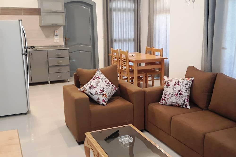 Apartmán typu Deluxe, 3 ložnice - Obývací pokoj