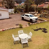 Kilátás a kertre