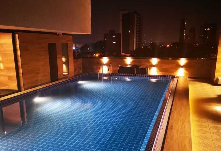 聖克魯斯溫德姆 TRYP 酒店, 聖克魯斯, 室外泳池