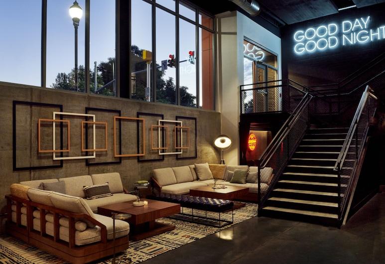 Origin Raleigh, a Wyndham Hotel, Raleigh, Zona con asientos del vestíbulo