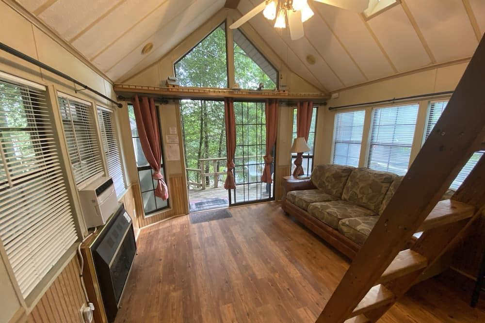 Exclusive-Ferienhütte - Wohnzimmer