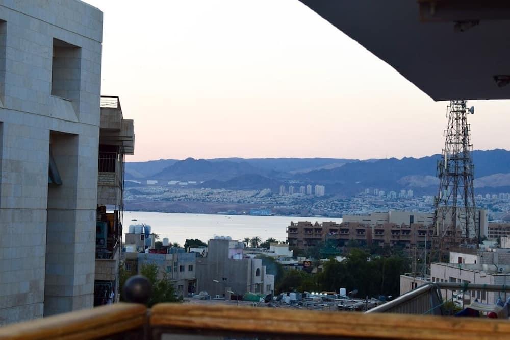 Rodinný pokoj - Výhled z balkonu
