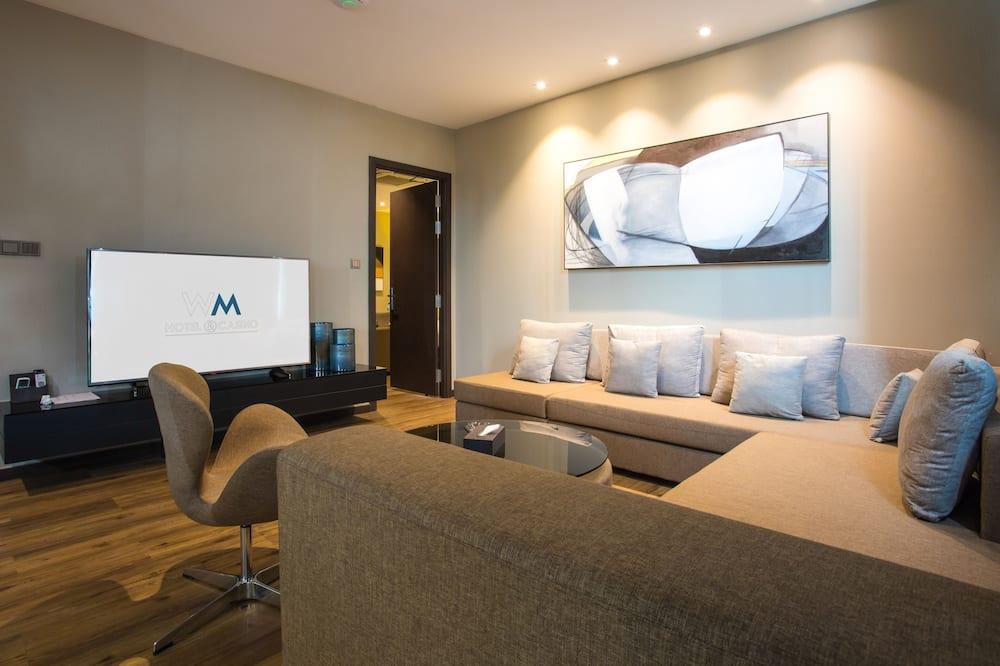Executive Sea View Suite - Coin séjour