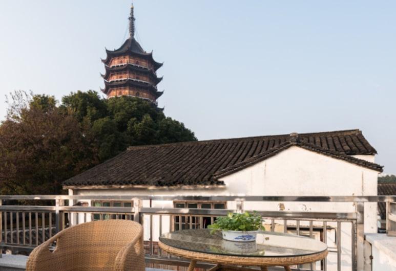 Suzhou Taying Culture Hotel, Szucsou, Terasz/udvar