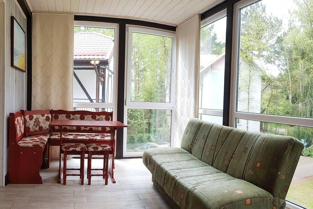 ดีลักซ์อพาร์ทเมนท์ - ห้องนั่งเล่น
