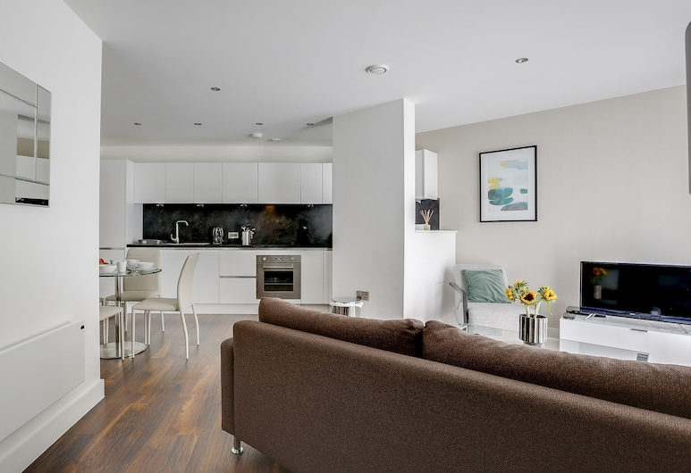 Luxury Townhouse, Manchester, Apartment, Living Area