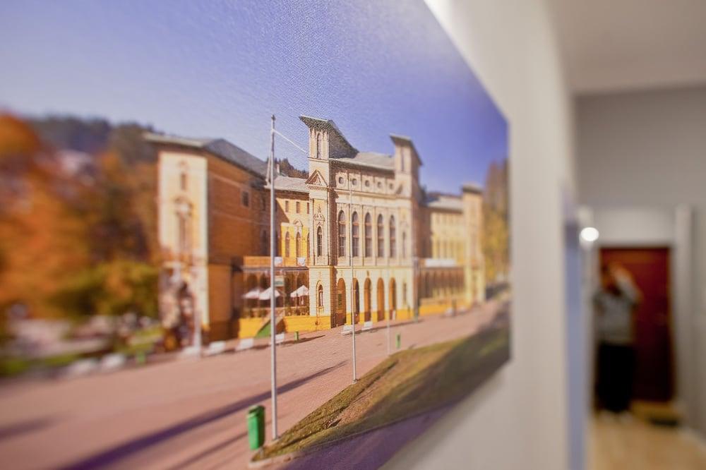 Deluxe-Apartment - Blick auf die Straße