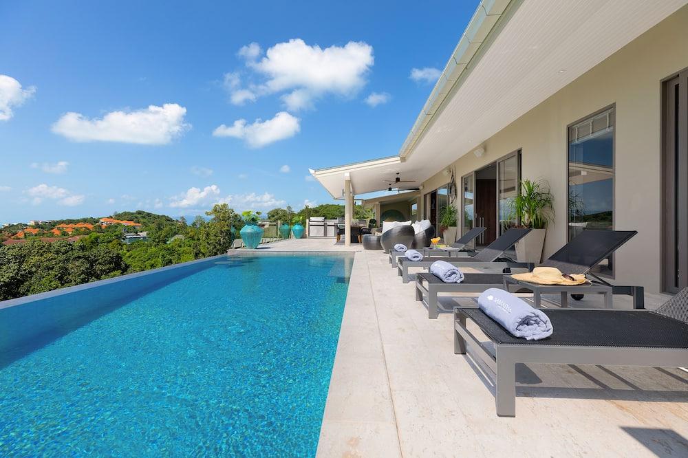 Superior Villa, 5 Bedrooms, Private Pool, Ocean Sunset View - Відкритий басейн