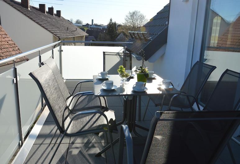 """Gästehaus Munk, Günzburg, Apartment """"Kammel"""", 1 Schlafzimmer, Balkon"""