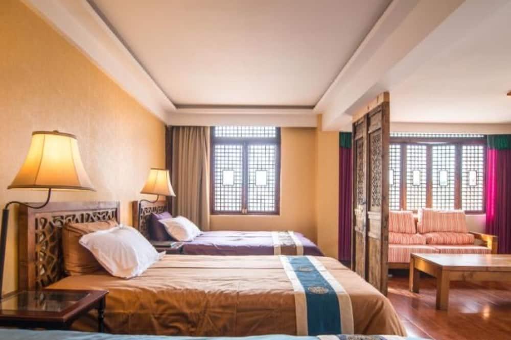 חדר קומפורט לשלושה, ללא עישון - חדר אורחים