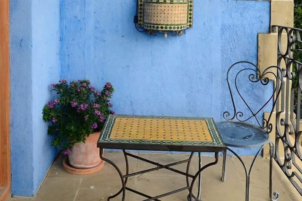 Panoramic Duplex, 1 King Bed, Jetted Tub (Marruecos) - Balcony