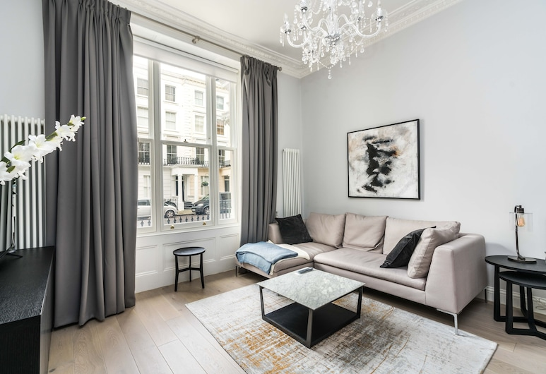 Stunning 2BD Flat Notting Hill Heart of Westend, Londen, Appartement (2 Bedrooms), Woonkamer