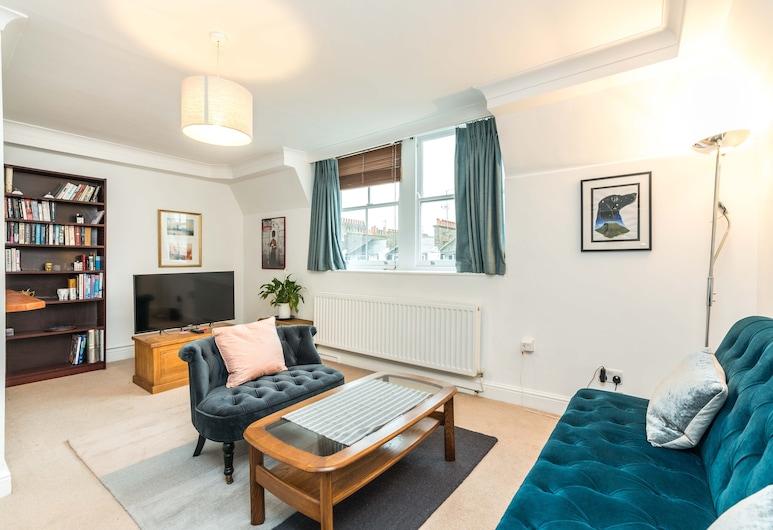 倫敦維多利亞中心新舒適 1 房公寓飯店, 倫敦, 公寓 (1 Bedroom), 客廳
