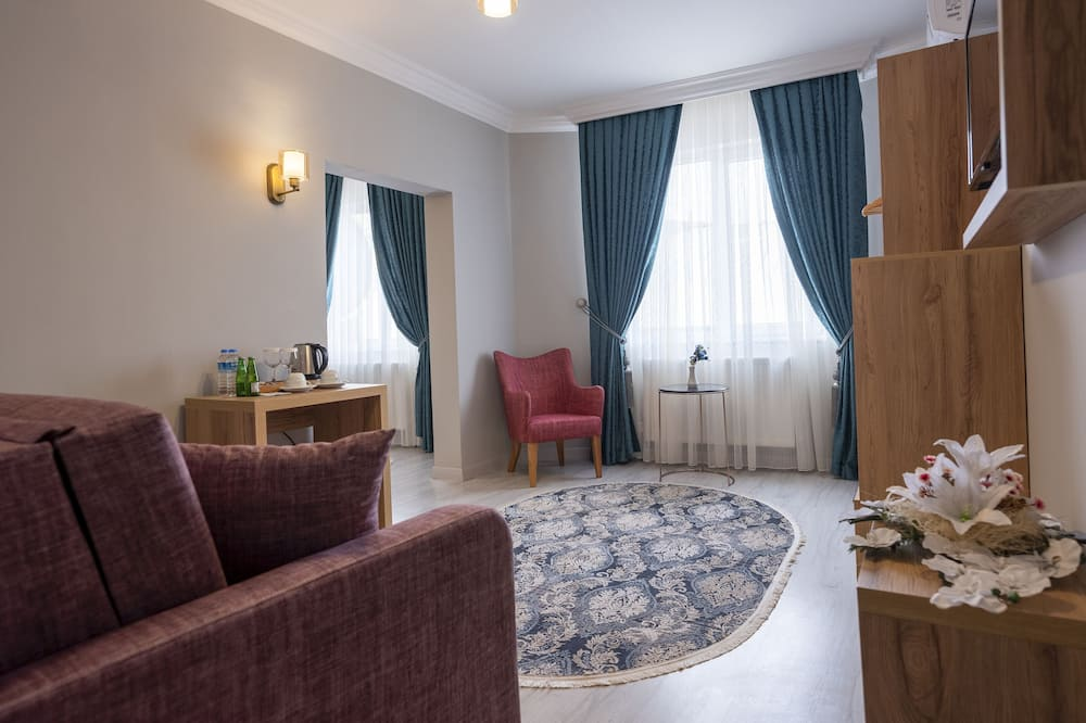 Comfort-Studiosuite - Wohnbereich