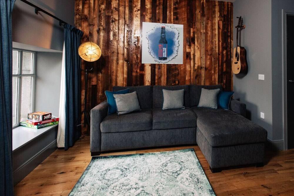 Estudio exclusivo - Sala de estar