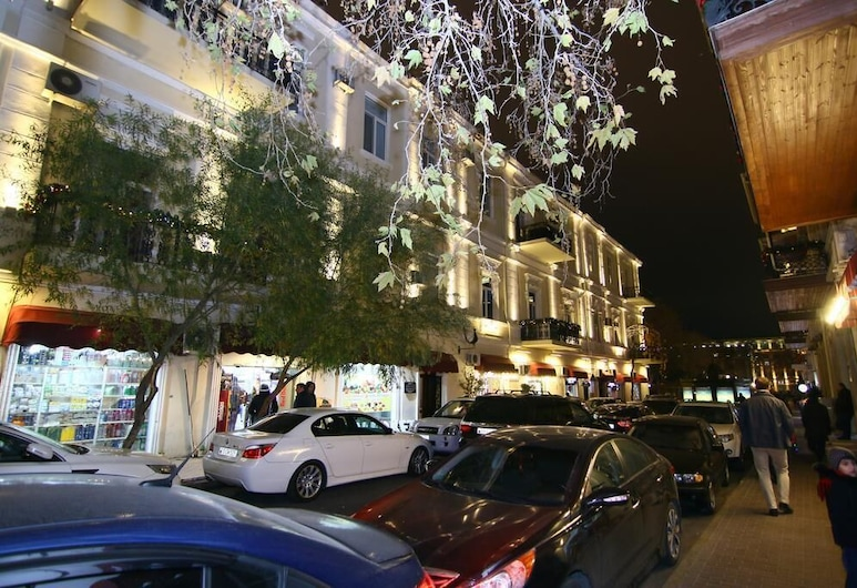 Nizami Street Hostel, Bakú, Fachada del hotel