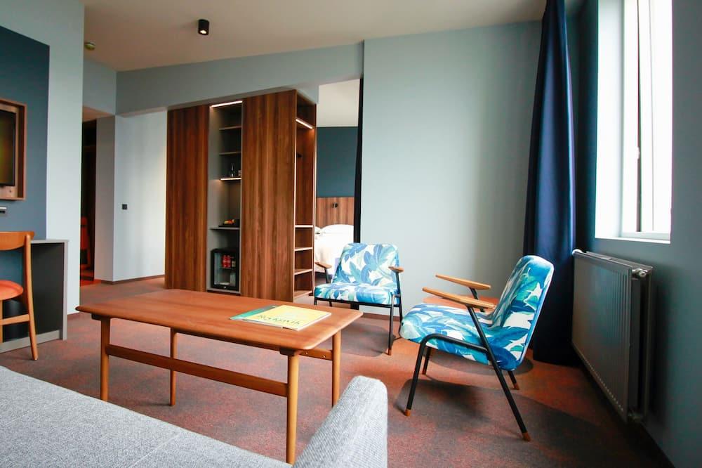 ห้องสวีท - ห้องนั่งเล่น