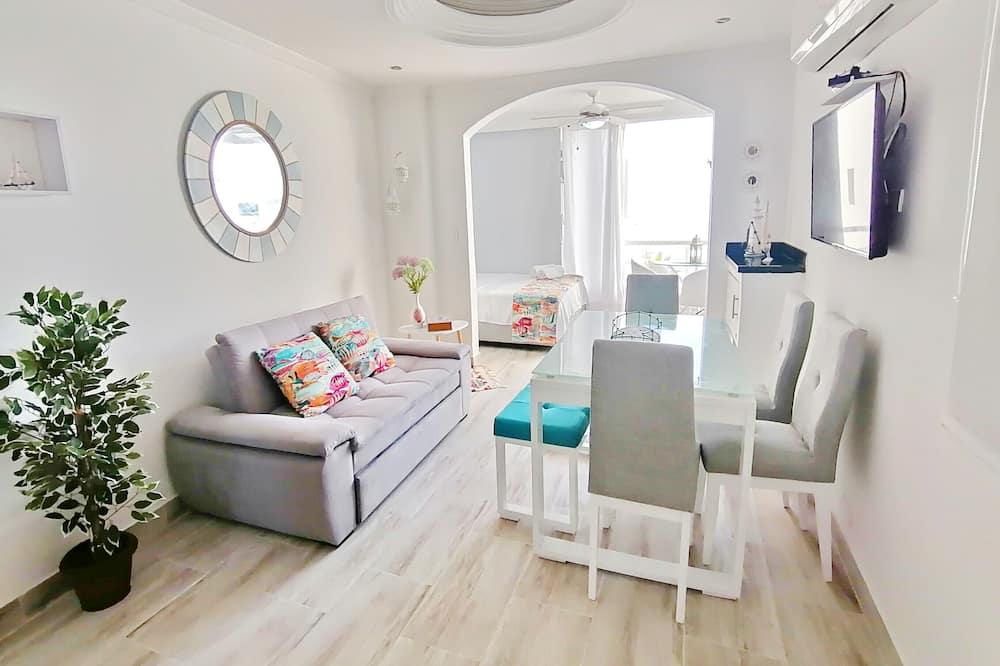 Design Apartment, Sea View - Living Area