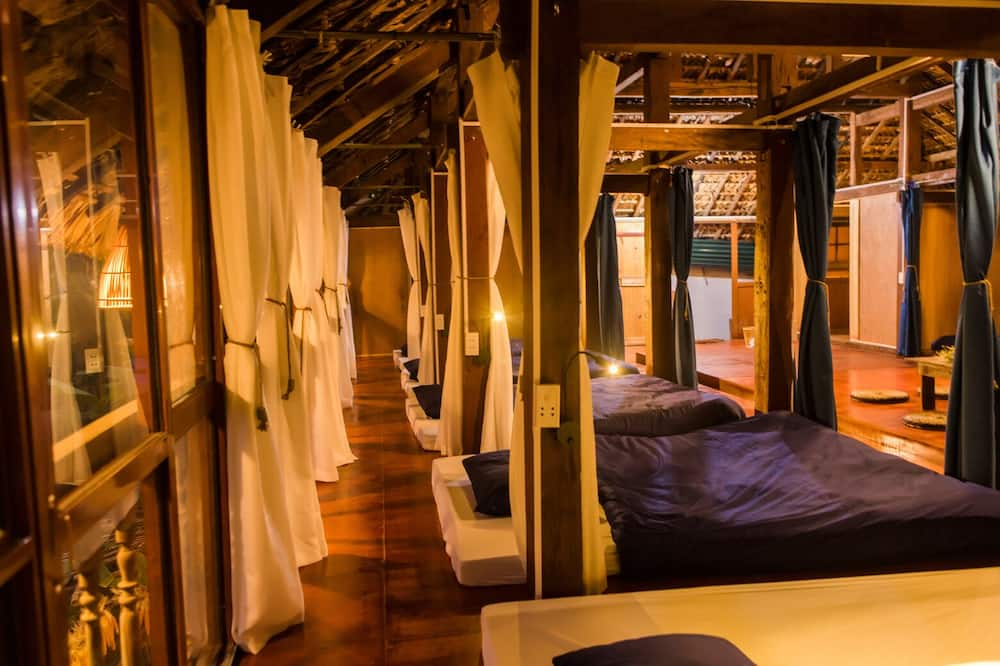 共同ドミトリー (Double Bed in Stilt House) - 客室