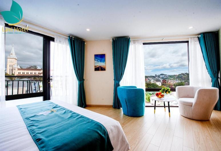 Lavi Hotel Da Lat, Da Lat, Deluxe dvokrevetna soba, balkon, Soba za goste