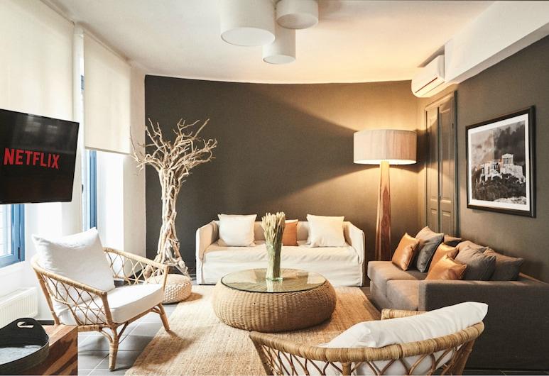 Art Pantheon - Suites & Apartments, Athens, Art Pantheon Apartment (3 Bedrooms), Bilik Rehat