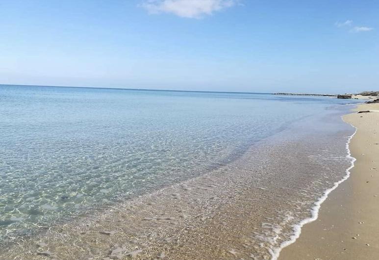 Tre Perle, Gallipoli, Bãi biển