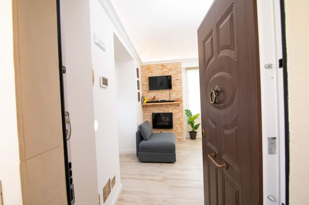 Apartament luksusowy, 1 sypialnia, widok na miasto (Scuderi) - Powierzchnia mieszkalna