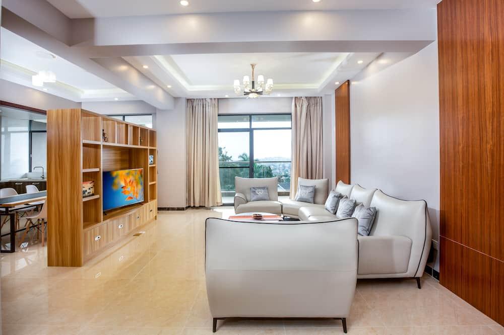 Appartement Signature, 4 chambres - Coin séjour
