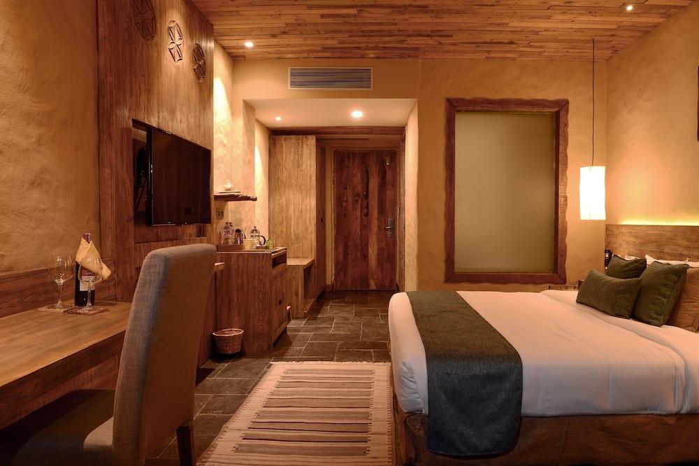 Deluxe-værelse - balkon - bjergudsigt - Stue