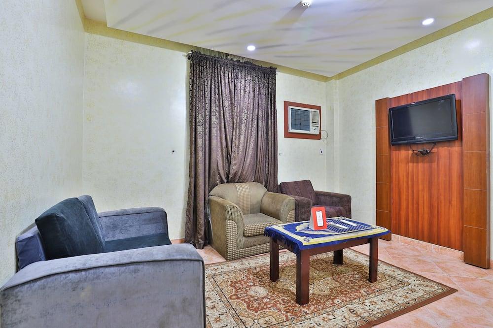 Deluxe-lejlighed - 1 soveværelse - Opholdsområde