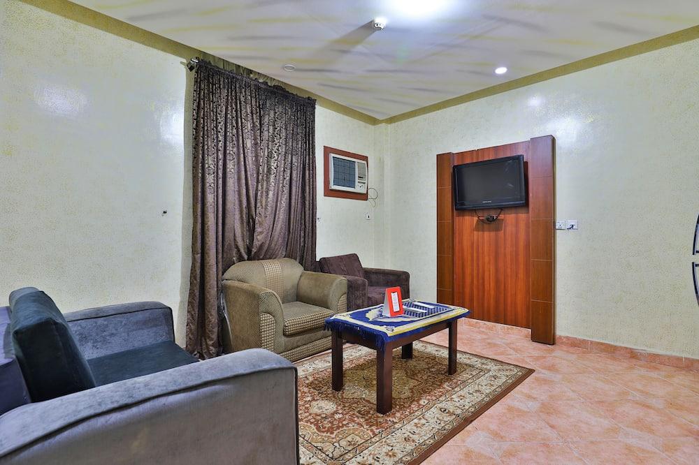 Deluxe-lejlighed - 1 soveværelse - Stue
