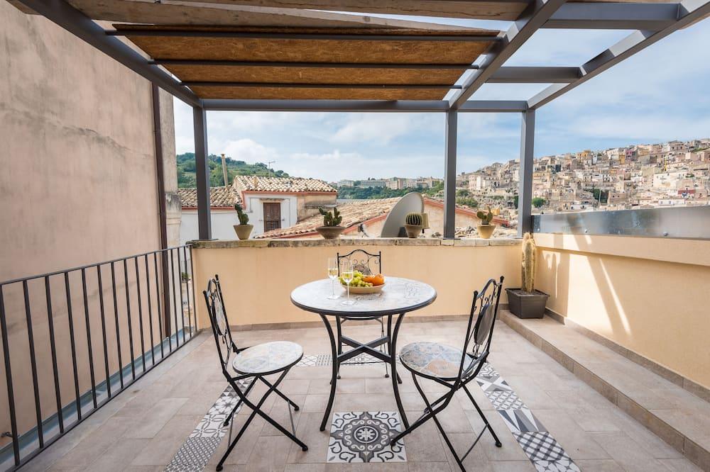 Panorama-dobbeltværelse - Terrasse/patio