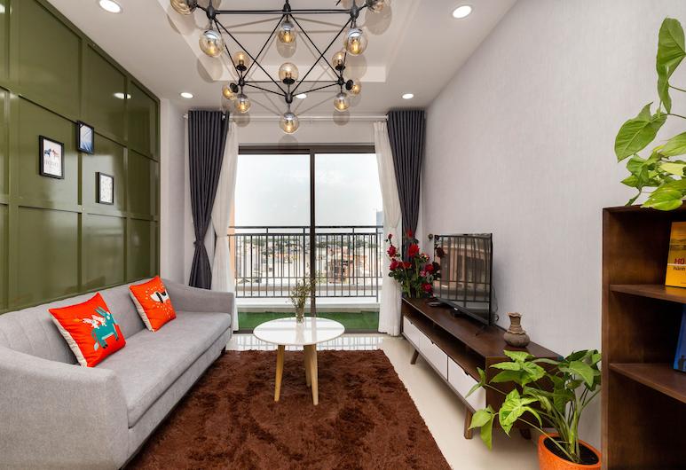 ハロ サン アベニュー アパートメンツ, ホーチミン, スタンダード アパートメント, 部屋からの景色