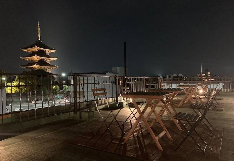 The Next Door - Hostel, Kyoto, Bunk Bed in Male Dormitory Room, Terrace/Patio