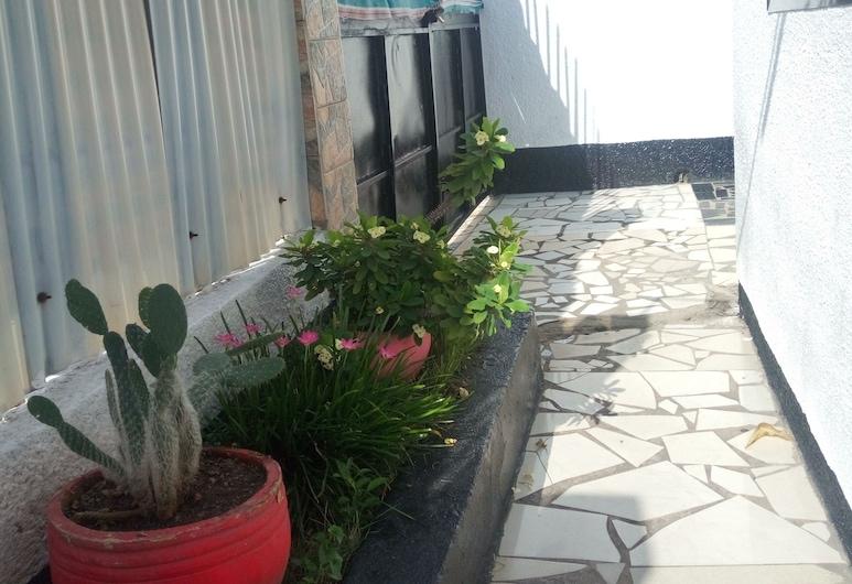 New Kivulini Guest House, 三蘭港, 庭院
