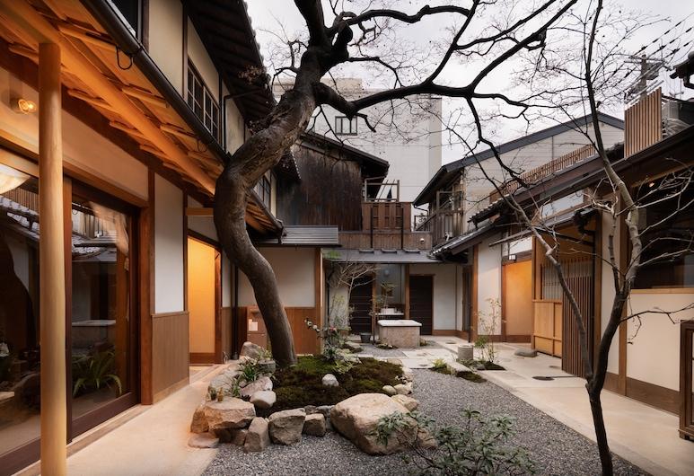 紡松原御幸町紅葉邸飯店, Kyoto, 庭院