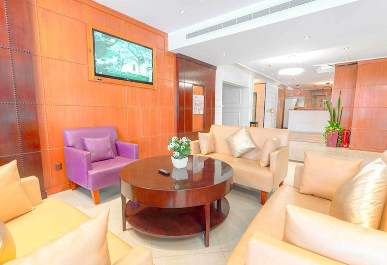 Praha Hotel, Jeddah, Lobby Sitting Area