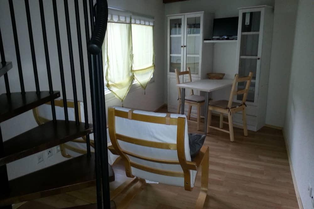Duplex, 1 Bedroom, Non Smoking, Kitchen - Living Area