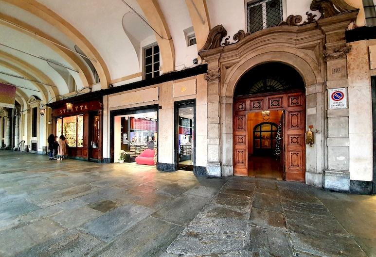 San Carlo Suite, Turin, Property entrance