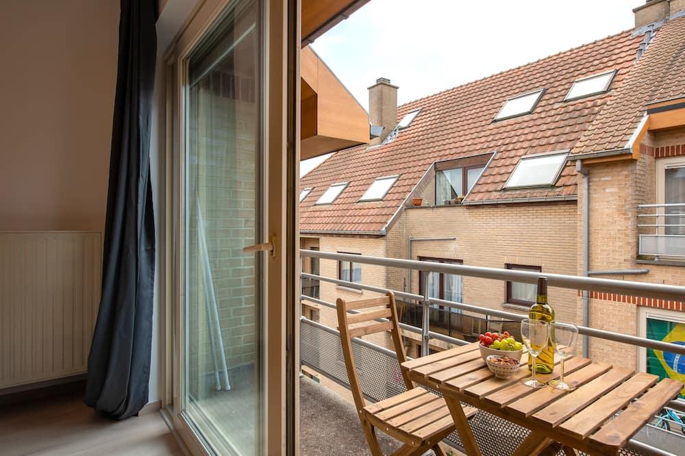 Apartamentai šeimai - Balkonas
